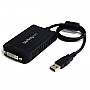 StarTech USB2DVIE3 USB to DVI External Video Card Multi Monitor Adapter Retail
