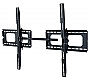 "Wall Mount Rack Tilt: For 60-102"" Tilt -/+15deg, Hold:150 kg(Black) LCD3038BLK"