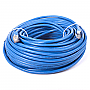 GENERIC GPC-CAT7-100BL 100ft Blue Cat7 S/STP Screened Shielded Twist Pairing Upto 10 Gigabit Network Cable