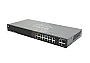 CISCO Smart Switch SG200-18 - GIGABIT SWITCH - 16 x 10/100/1000 + 2 x combo Gigabit SFP - rack-mountable