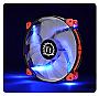 Thermaltake Luna 20 LED Blue 200mm Efficient, Quiet & Anti-vibration Cooling Fan Retail CL-F024-PL20BU-A