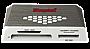 CARD READER (EXTERNAL) - KINGSTON USB 3.0 Media Reader High Speeds up to 5.0Gb/sFCR-HS4