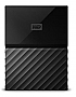 "WESTERN DIGITAL - RETAIL - My Passport 1TB 2.5"" Black USB3.0 External Hard Drive WDBYNN0010BBK-WESN"