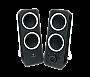 Logitech Z200 MULTIMEDIA SPEAKERS 2.0 MIDNIGHT BLACK  Retail 980-000800