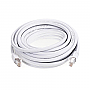 GENERIC GPC-CAT7-30WH 30ft White Cat7 S/STP Screened Shielded Twist Pairing Upto 10 Gigabit Network Cable
