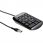 TARGUS NUMERIC KEYPAD USB WIRED BLACK GRAY AKP10US