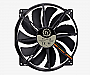 Thermaltake Pure 20 Black 200mm High performance enduring case fan Retail CL-F015-PL20BL-A