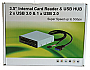 CARD READER (INTERNAL) - ALDEN USB 3.0 (all in one) card reader  Black Panel Retail