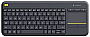 LOGITECH Wireless Touch Keyboard K400 Plus with  USB InterfaceTouchPad 920-007119