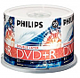 DVD MEDIA - PHILIPS 8X DVD+R INKJET DOUBLE LAYER 50/PK