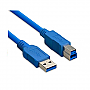 1.5' USB 3.0 A/B M-M CABLE US-3AB1