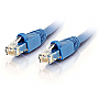 1.5' CAT6A F/UTP RJ45 Shielded  Ethernet Blue Network Cable CC-A01BL
