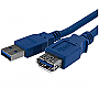 STARTECH 6' SuperSpeed USB 3.0 Extension Cable A to A - M/F Blue USB3SEXTAA6