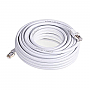 GENERIC GPC-CAT7-50WH 50ft White Cat7 S/STP Screened Shielded Twist Pairing Upto 10 Gigabit Network Cable