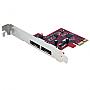 STARTECH 2 Port PCIe Esata 6 Gbps Controller Card PEXESAT32