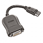 Lenovo 45J7915 DVI Cable Single Link DisplayPort DVI-D Retail