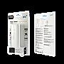 PQI 6PP3-031R0001A i-Power 7800mAh Power Bank Micro USB input USB Output White Retail  Package