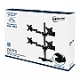 Arctic Cooling AC Z-4 Pro Four Monitor Desk Mount w/4 ports USB 3.0 Hub Retail ORAEQ-MA014US-GBA01