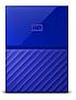 "WESTERN DIGITAL - RETAIL - My Passport 1TB 2.5"" Blue USB3.0 External Hard Drive WDBYNN0010BBL-WESN"