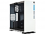 In-Win 303 Exquisitely Modest Aesthetic Design WHITE Color Tempered Glass Window Tower Case w/USB 3.0 NO POWER SUPPLY
